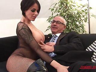 bbw fischnetz porno
