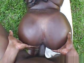 fucking big hintern, schwarzen pussy